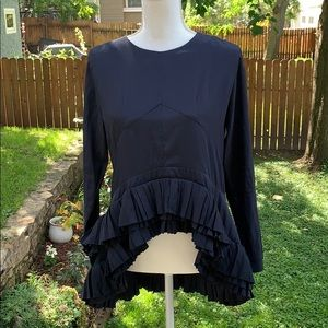 GRACIA - NWOT from Nordstrom Navy Blue Blouse 💙